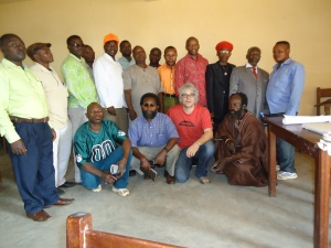 Members of the newly formed Initiative of Artisanal small-scale miners for peace and sustainable development