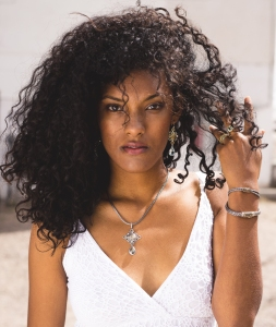 Reflective Images Jewelry - model wearing jewelry by Reflective Images